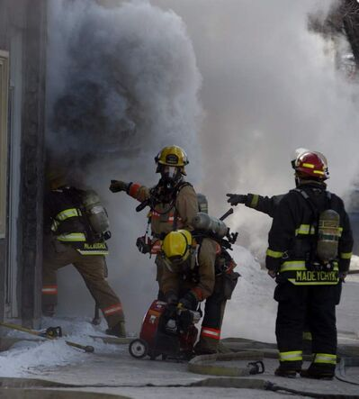A late-morning fire caused $100,000 damage to a vacant pizza shop on Main Street on Tuesday. Firefighters were called shortly after 11 a.m. There were no injuries. The cause is under investigation.