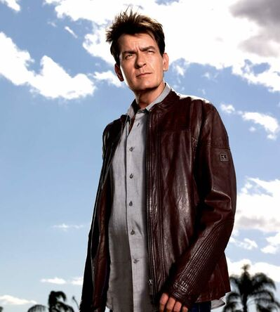 Not mad about you: Charlie Sheen's latest sitcom isn't destined to be a classic.