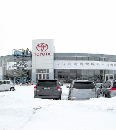 The new, $12-million, 40,000-square-foot Crown Toyota Scion store is now open.