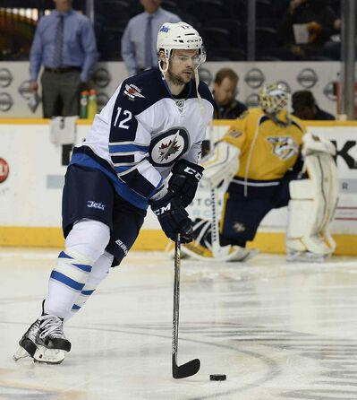 Winnipeg Jets right-winger Drew Stafford is locked in for two more years.