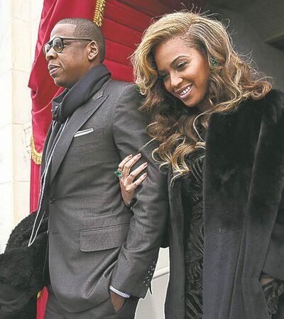 Mr. and Mrs. Shawn Carter, also known as Jay-Z and Beyoncé.