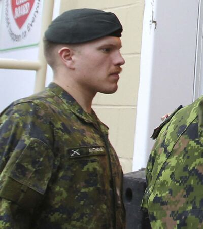 Canadian military reservist Patrik Mathews was revealed to be a recruiter for the white supremacist paramilitary group, the Base.</p>