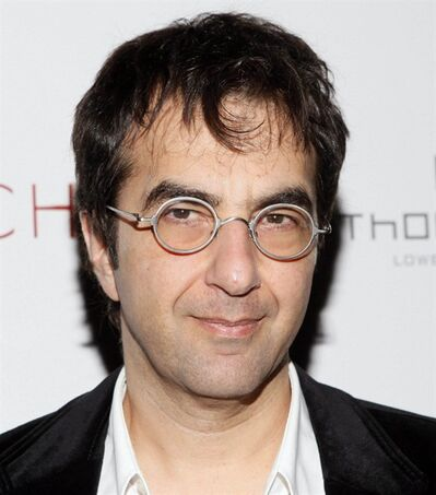 Canadian film director Atom Egoyan arrives at the New York premiere of his film Chloe, Monday, March 15, 2010. (AP Photo/Stuart Ramson)