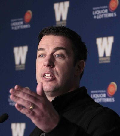 Blue Bombers GM Kyle Walters is hoping his club escapes relatively unscathed in Monday's expansion draft.