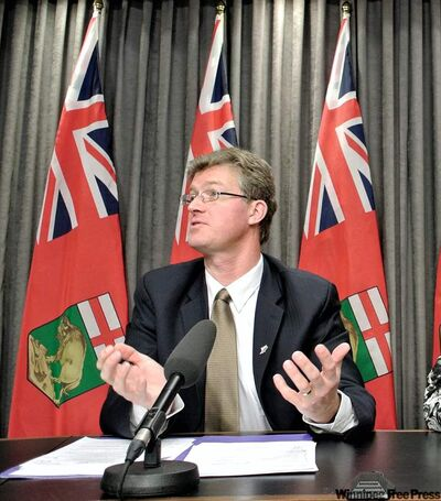 Manitoba's Justice Minister Andrew Swan