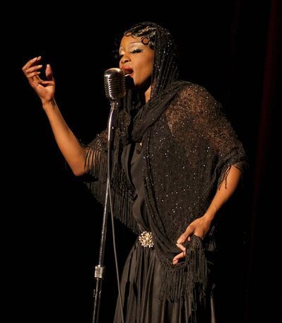 Supplied</p><p>Tymisha Harris will reprise her role as Josephine Baker.</p>