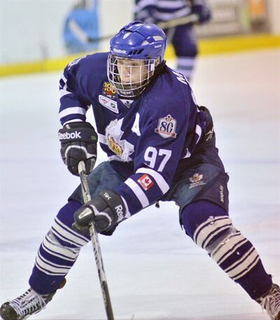 Teen hockey phenom Connor McDavid is shown in a recent handout photo. THE CANADIAN PRESS/HO-Dave Wells