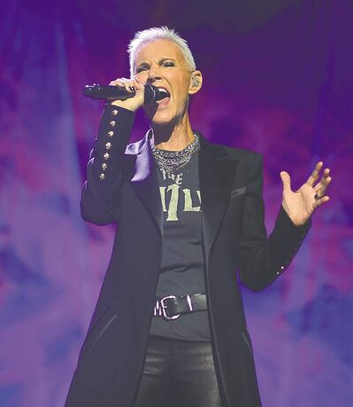 Roxette performs for a crowd of 7,000 at the MTS Centre Friday night.