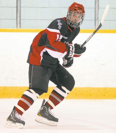 Bruce Bumstead / Brandon Sun archivesManitoba�s Jordan Thomson picked up a pair of assists against the Finns.