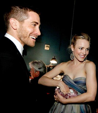 Jake Gyllenhaal and Rachel McAdams