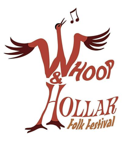 Ottawa artist Jane Miller created the Whoop & Hollar Folk Festival's new logo.