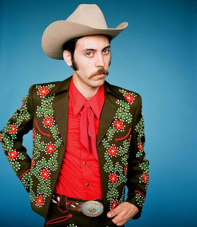 Canadian country throwback Daniel Romano plays The Folk Exchange on Oct. 19.