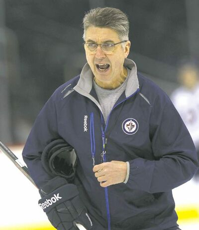 Winnipeg Jets coach Claude Noel says there's no point arguing the results of a goal-scoring review.