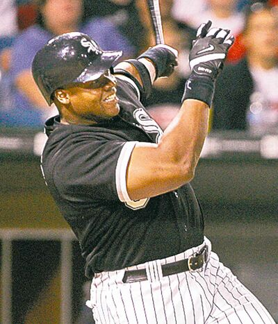 Frank Thomas became the sixth ex-Jay to enter the Hall of Fame.