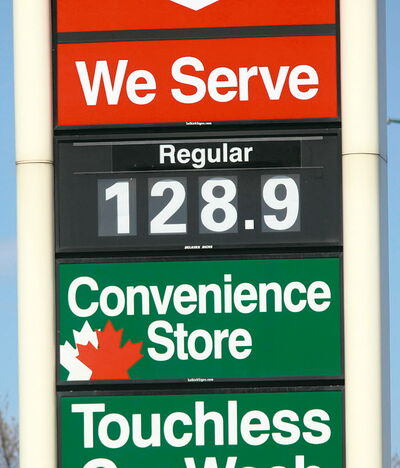 Our correspondent suspects his local gas bar knows when he's coming and raises prices accordingly.