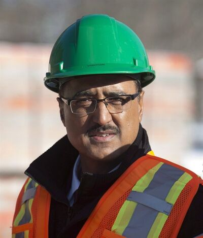 Infrastructure and Communities Minister Amarjeet Sohi is seen as he tours the future site of the Tremblay station, part of the light rail transit project in Ottawa, Wednesday January 13, 2016.Cities and provinces with new, shovel-ready infrastructure projects will be eligible for funding under the first phase of the Liberal infrastructure program, but only if the work is completed within the next three years.That's the message in letters which Sohi sent to his provincial counterparts last week. THE CANADIAN PRESS/Adrian Wyld