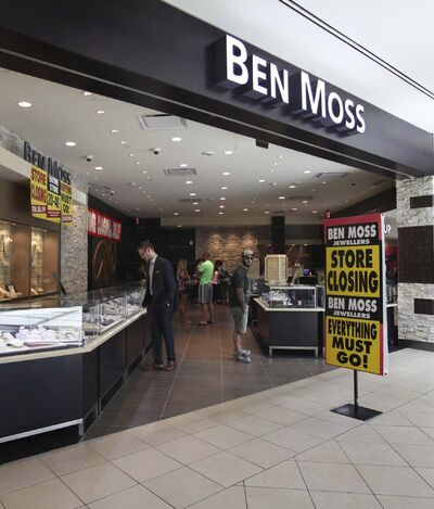 RUTH BONNEVILLE / WINNIPEG FREE PRESS FILES</p><p>The Ben Moss Jewellers store in Polo Park Shopping Centre which closed in August of 2016, has re-opened under new ownership.</p>