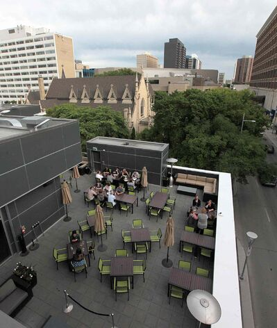 PHIL HOSSACK / WINNIPEG FREE PRESS </P><p>The Met patio was recently named one of the country&#39;s Top 12 rooftop patios by the Food Network.