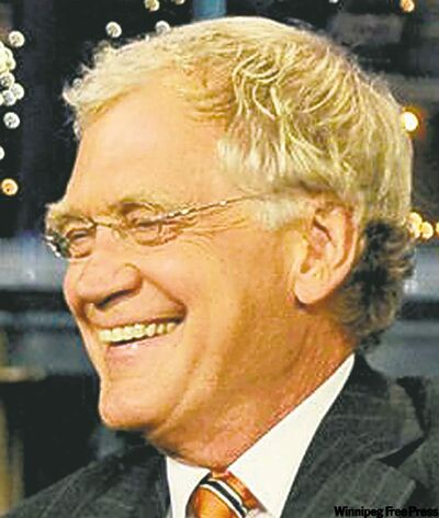 Letterman: 'He kinda looks like me'
