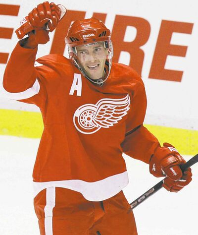 Carlos Osorio / THE ASSOCIATED PRESS ARCHIVESRed Wings centre Pavel Datsyuk is renowned for his wit and charm.