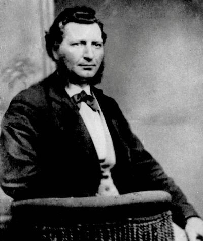 Metis leader Louis Riel is shown in a file photo, circa 1876.
