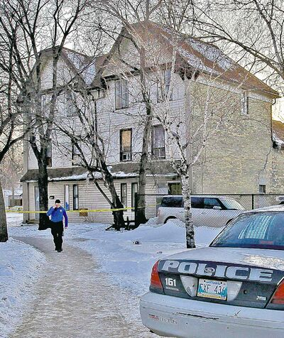 Ron McKinnon died in his suite at 626 Balmoral St. Another tenant was charged.