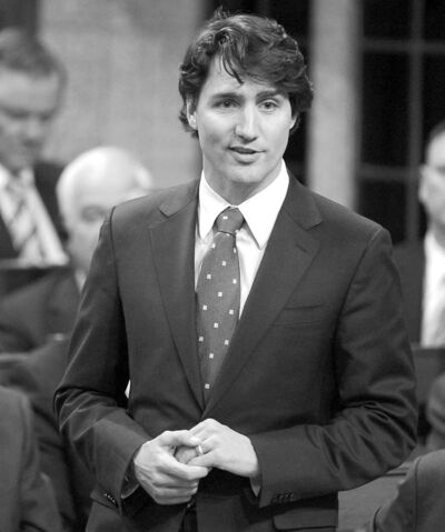 Liberal Leader Justin Trudeau rises during Question Period in the House of Commons in Ottawa on Wednesday.