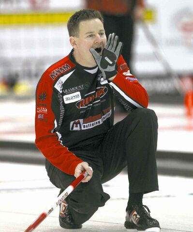 Rob Fowler (left) is set to curl once again with 11-time champion Jeff Stoughton.
