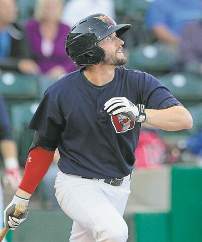 The Goldeyes' Tyler Kuhn earned another nod for the Fish, named as a 2014 all-star.
