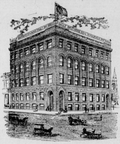 WINNIPEG TRIBUNE FILES</p><p>The original four-storey building. A major addition was added above and to the south in 1903.</p>