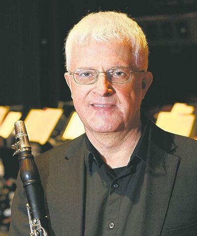 SUPPLIED PHOTOKlassen says he started playing clarinet �by accident.�