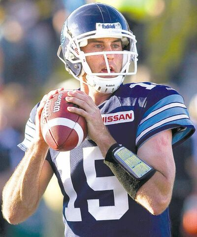 Argonauts' quarterback Ricky Ray is on a roll heading into Montreal. Be afraid, Als fans.