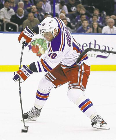 Chris O�Meara / the associated press archivesMarian Gaborik waived his no-trade clause to accept a deal to Columbus.