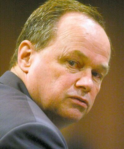 Former East St. Paul police chief Harry Bakema awaits a decision on perjury, obstruction charges.