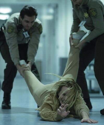 Cecilia Kass's paranoia makes her the prime suspect. (Universal Studios)