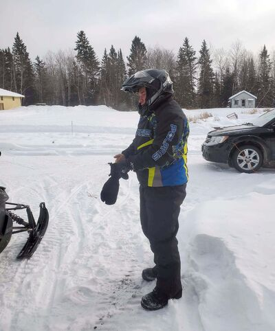 Dan Lemay left Pinewood Lodge on a snowmobile trip around 4 p.m. Sunday. (Facebook)</p>