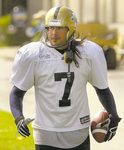 You've got pluck, former Bomber kicker Troy Westwood (shown in 2004).