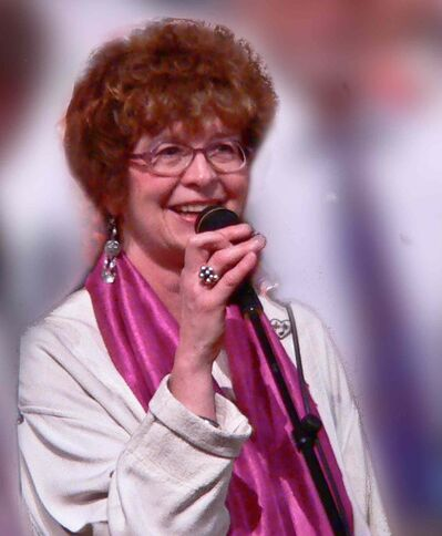 Margaret Tobin, founder of Margaret's Choir, encourages everyone to sing, even if they think they can't.