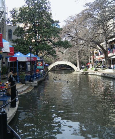 Judith Evans/St. Louis Post-Dispatch/MCT</p><p>The Riverwalk winds through about 5 miles of San Antonio. The central portion is lined with restaurants and shops, and river taxis offer a convenient way to reach museums, a mall and other attractions.</p>