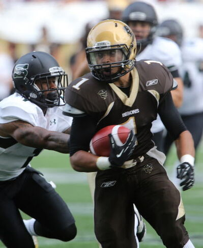 Shifty Manitoba running back Anthony Coombs went third overall to the Edmonton Eskimos.