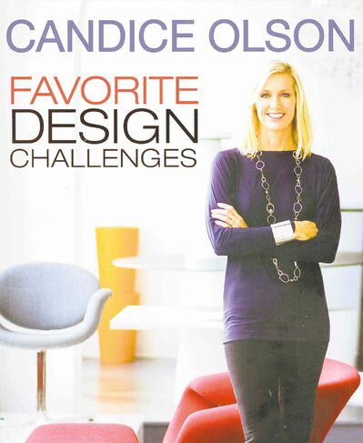Candice Olson's Favorite Design Challenges features sketches and designs of 20-plus homes.