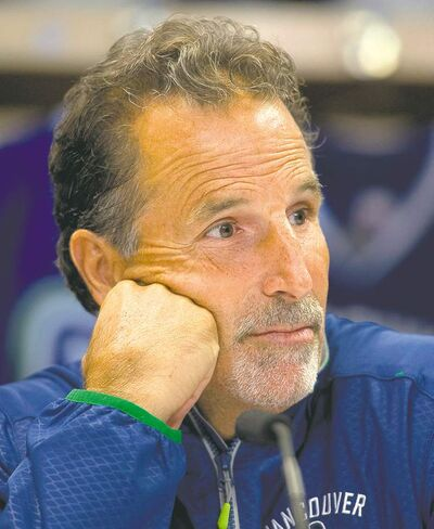 Canucks head coach John Tortorella is known for having physically demanding training camps.