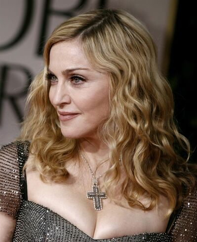 Madonna arrives at the 69th Annual Golden Globe Awards Sunday, Jan. 15, 2012, in Los Angeles. Deadmau5 and Madonna have declared a truce on Twitter after the Canadian electronic DJ slagged the Material Girl for making comments that he interpreted as glamorization of drug use. THE CANADIAN PRESS/AP-Matt Sayles