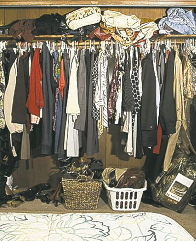 Start with the assumption there will never be enough closet space.