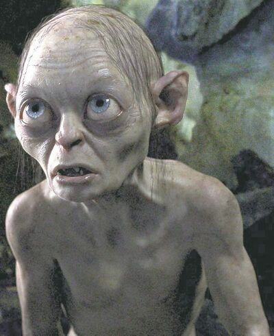 Andy Serkis is Gollum