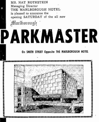 Winnipeg Free Press, April 5, 1957The city&rsquo;s third parkade, the automated Parkmaster across from the Marlborough Hotel, proved to be impractical. The $1 million structure was demolished after just a decade.</p>