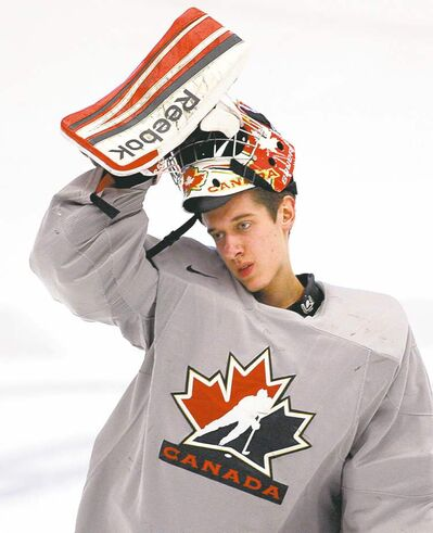 Jeff McIntosh / the canadian press archivesJordan Binnington came into camp with a 2.07 GAA in the OHL.