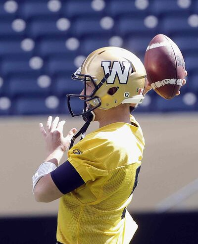 QB Drew Willy took most of the reps Friday and threw the ball with the hand he injured Thursday with no problems.