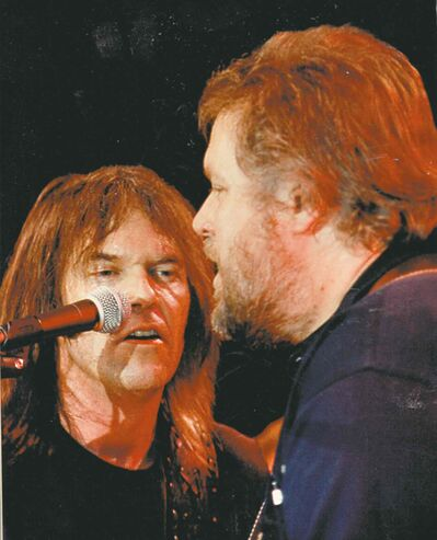 Neil Young and Randy Bachman perform.