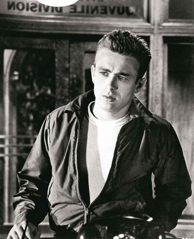 The Associated Press archivesJames Dean, as Jim Stark in Rebel Without A Cause, shows his brand of �50s cool.